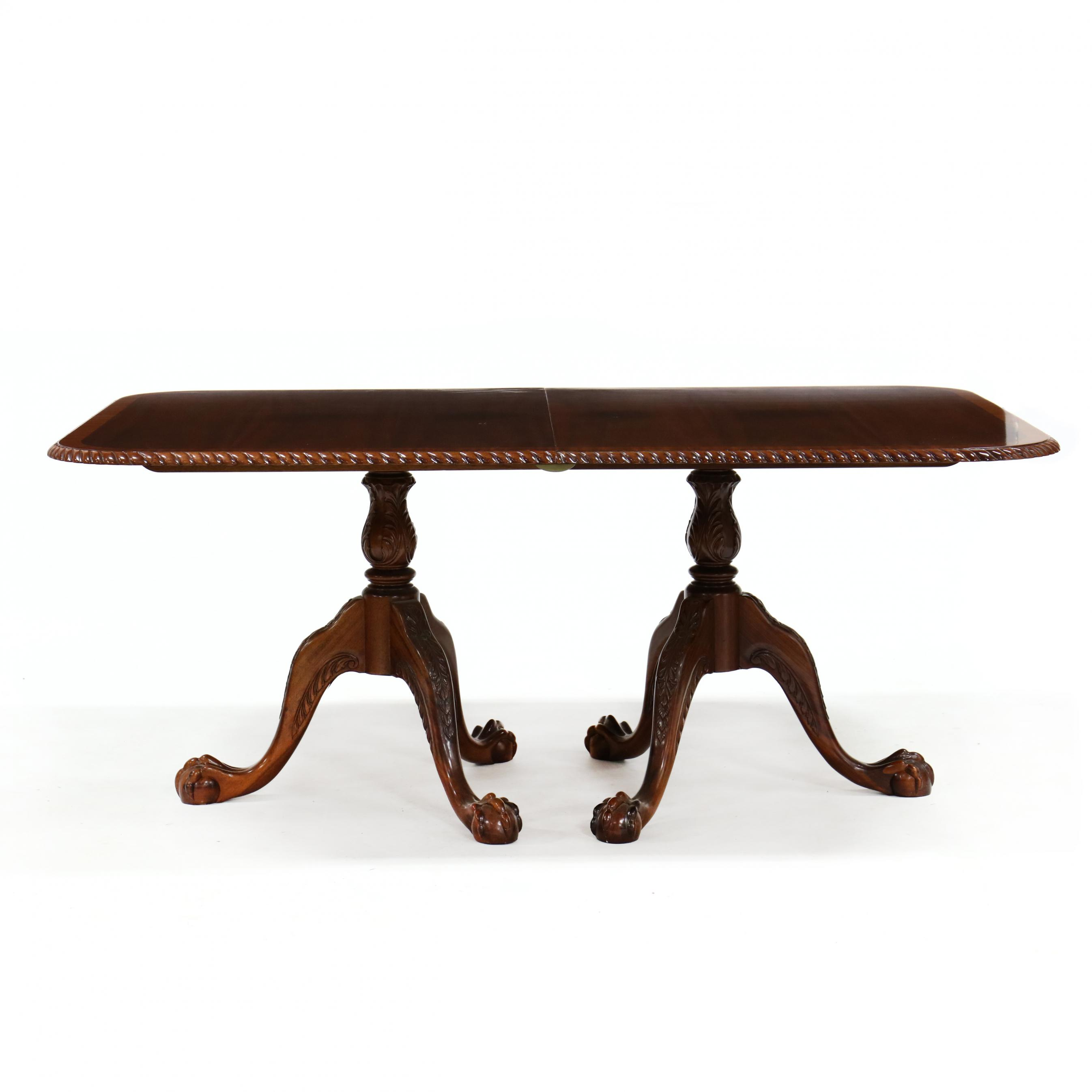 georgian-style-carved-and-banded-mahogany-dining-table