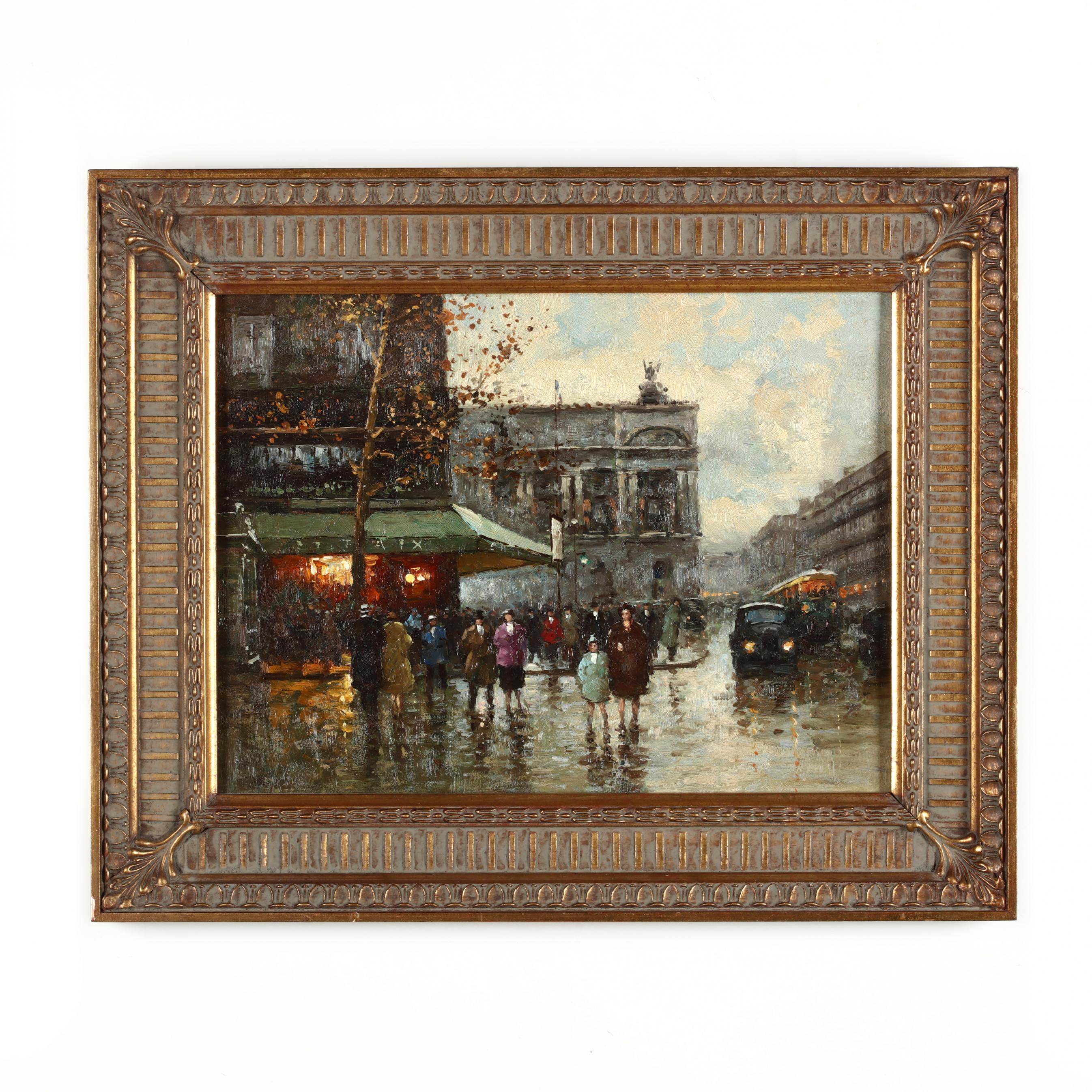 decorative-painting-of-a-parisian-street-scene
