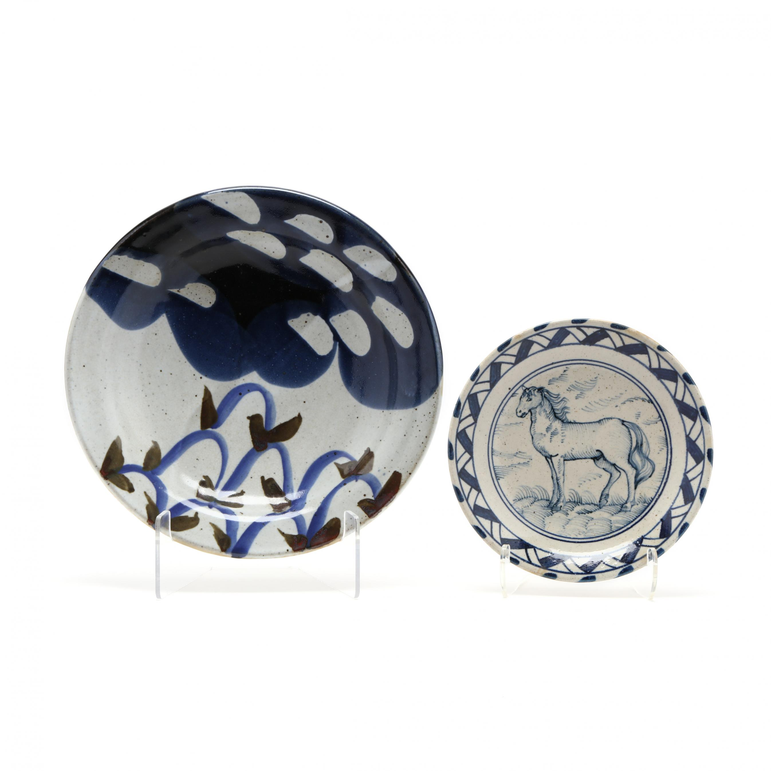 two-studio-pottery-dishes
