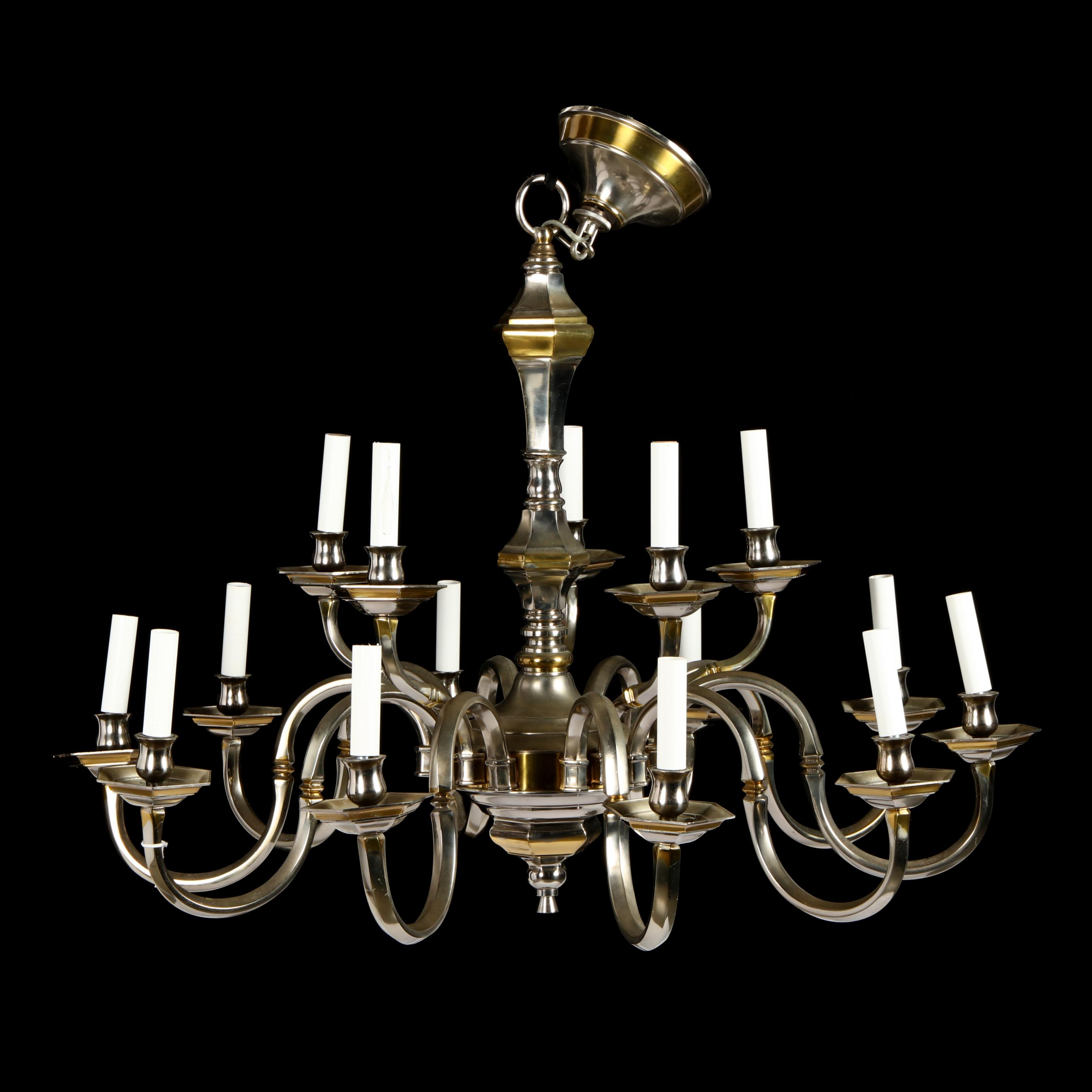 colonial-style-silverplate-chandelier
