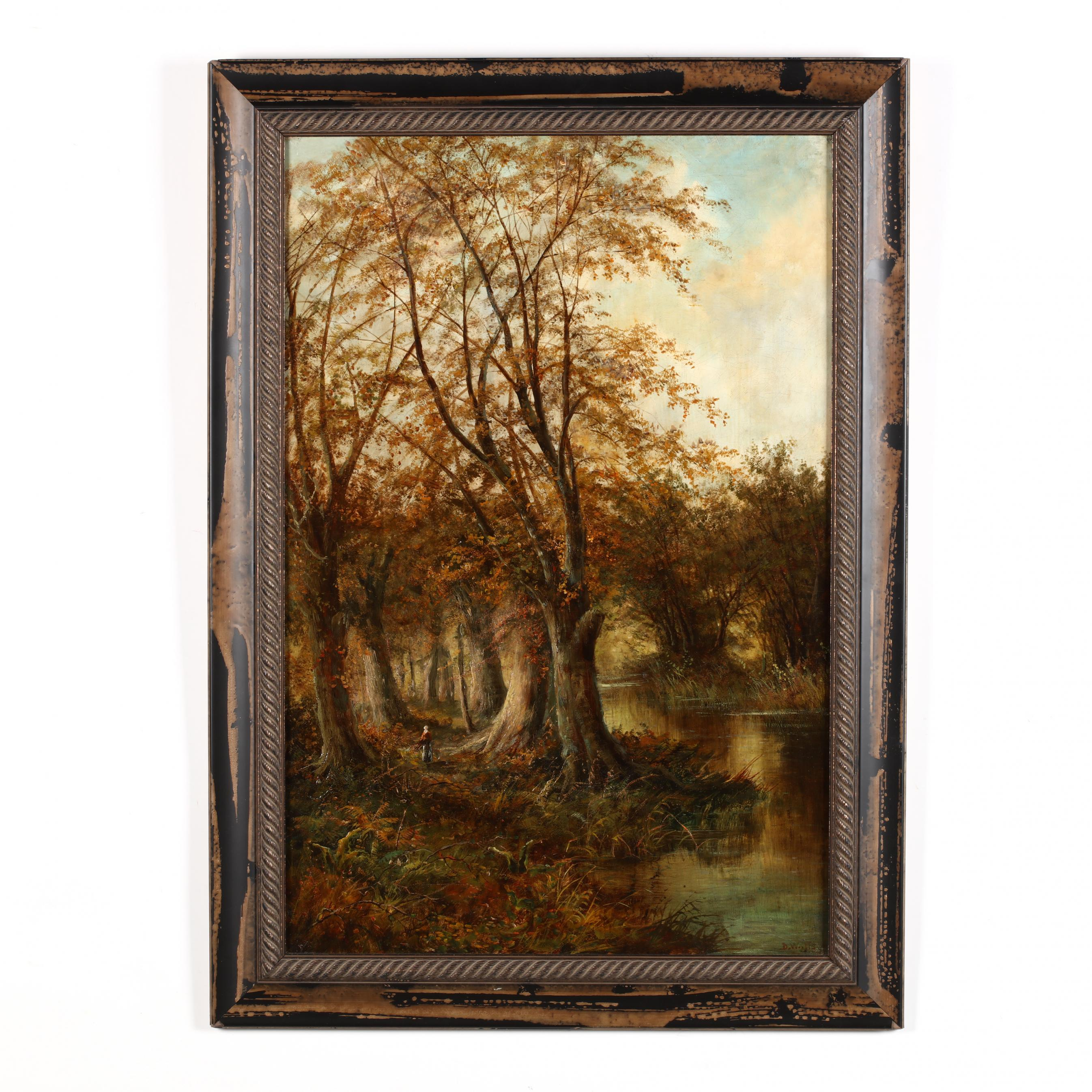 david-watts-british-19th-20th-century-gathering-firewood
