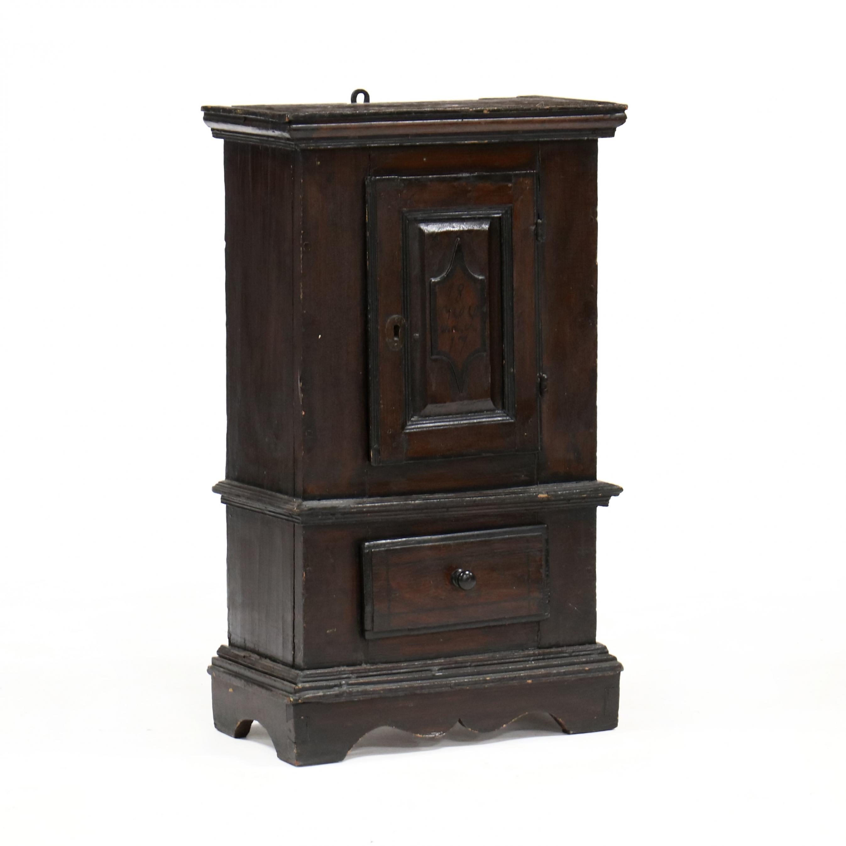 antique-continental-diminutive-painted-cabinet