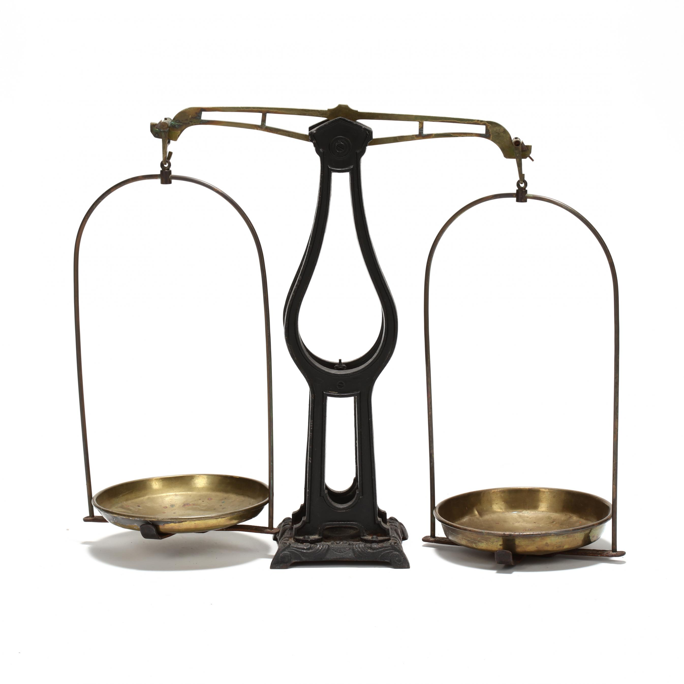 antique-iron-and-brass-balance-scale