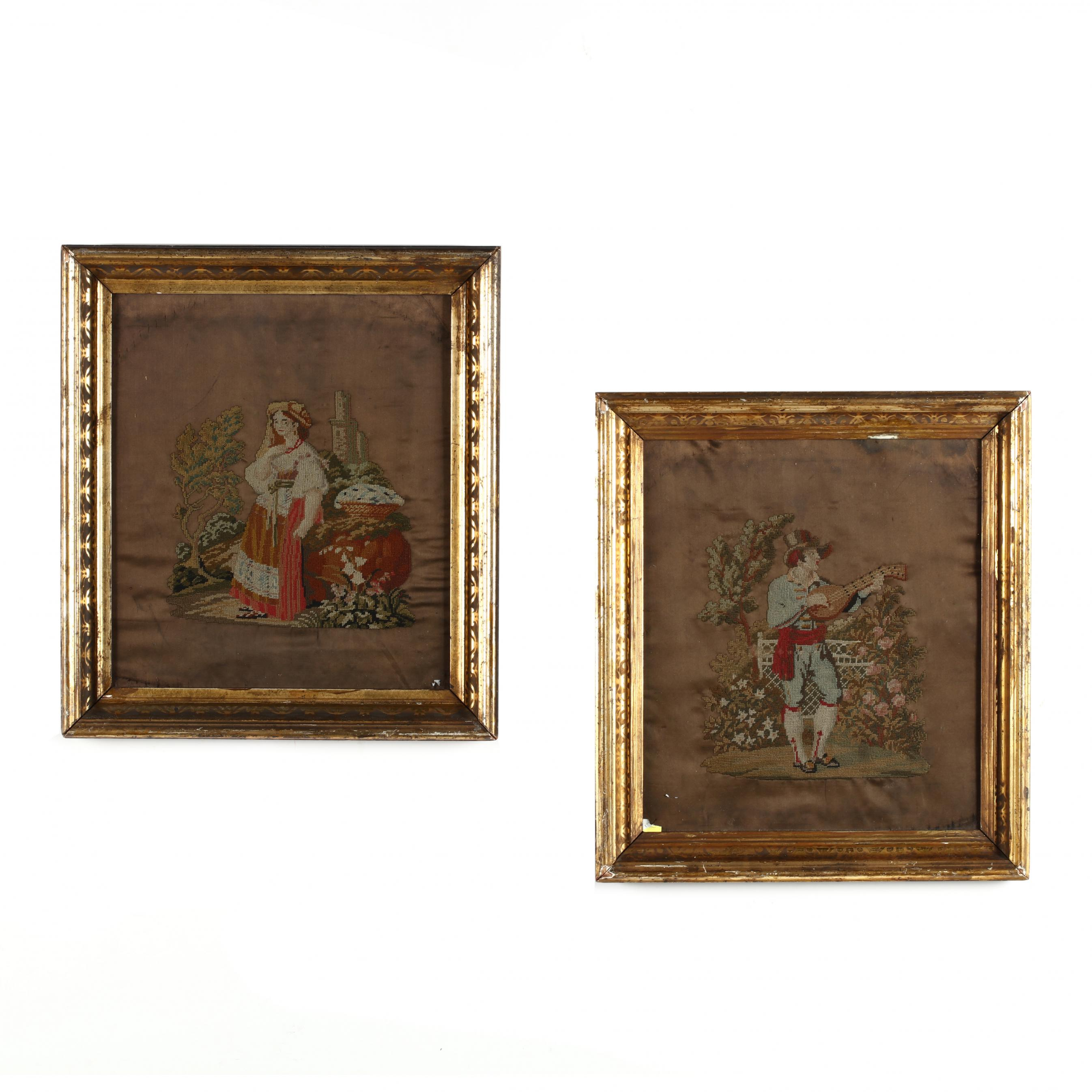 a-pair-of-antique-berlin-woolwork-picture-of-costumed-figures