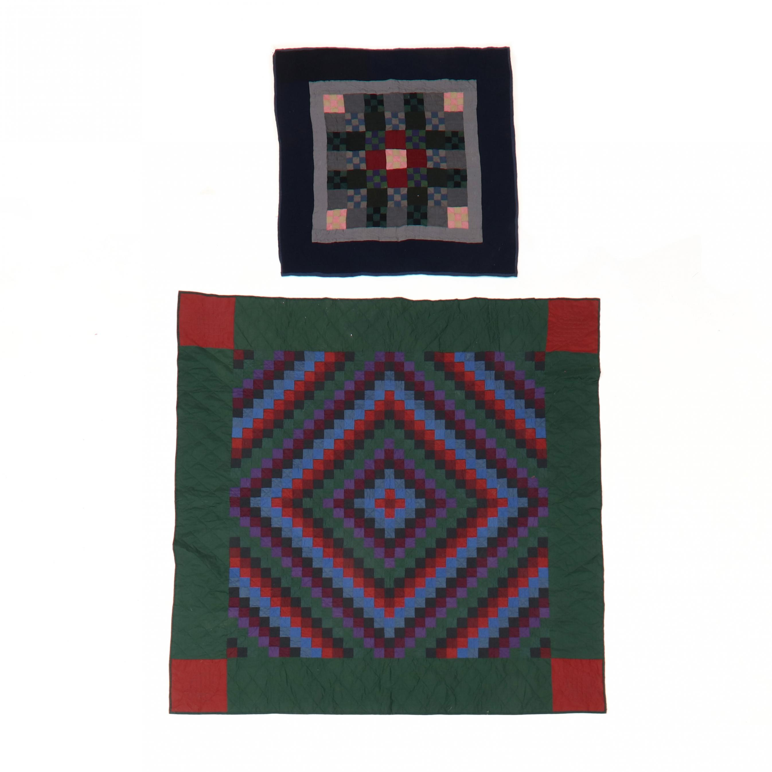 two-amish-quilts