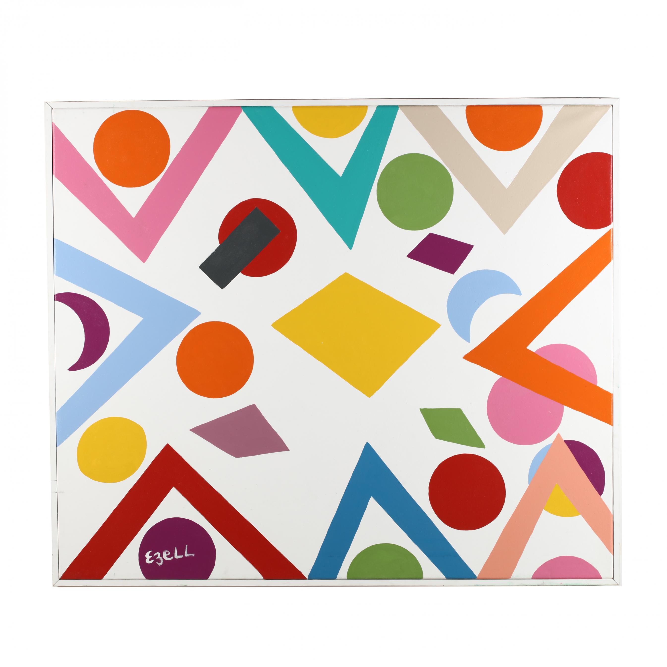 sam-ezell-nc-large-dot-painting