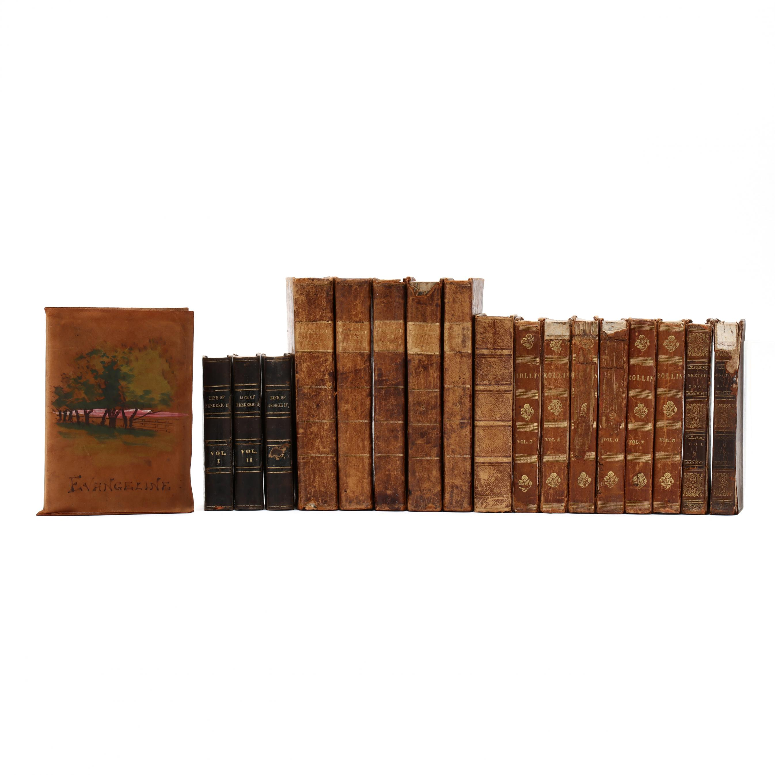 18-antique-leather-bound-books