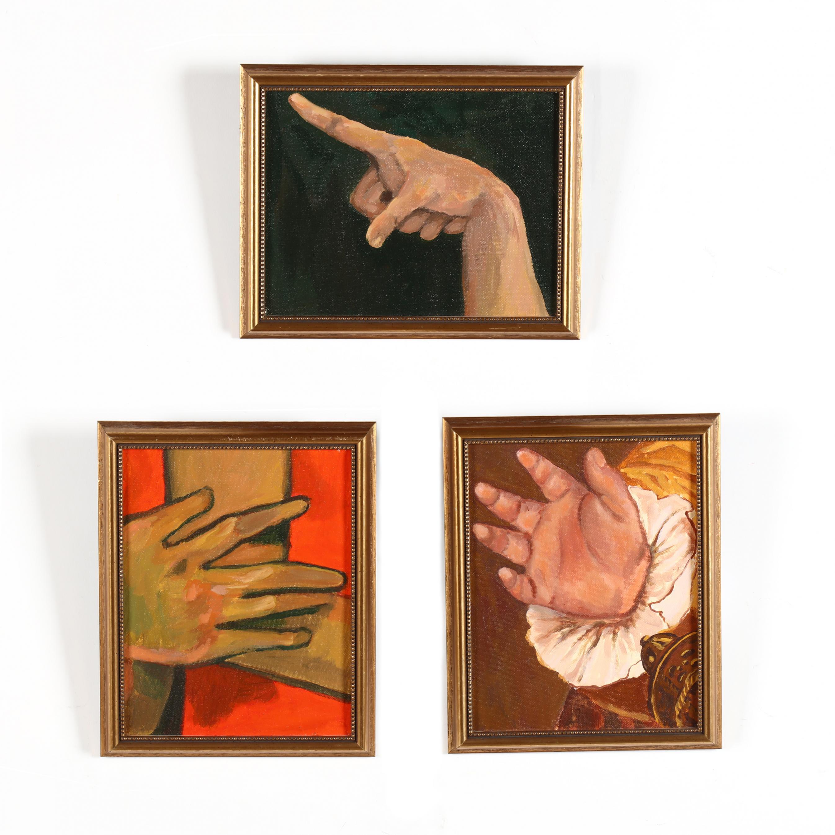 lea-lackey-zachman-nc-three-studies-of-hands
