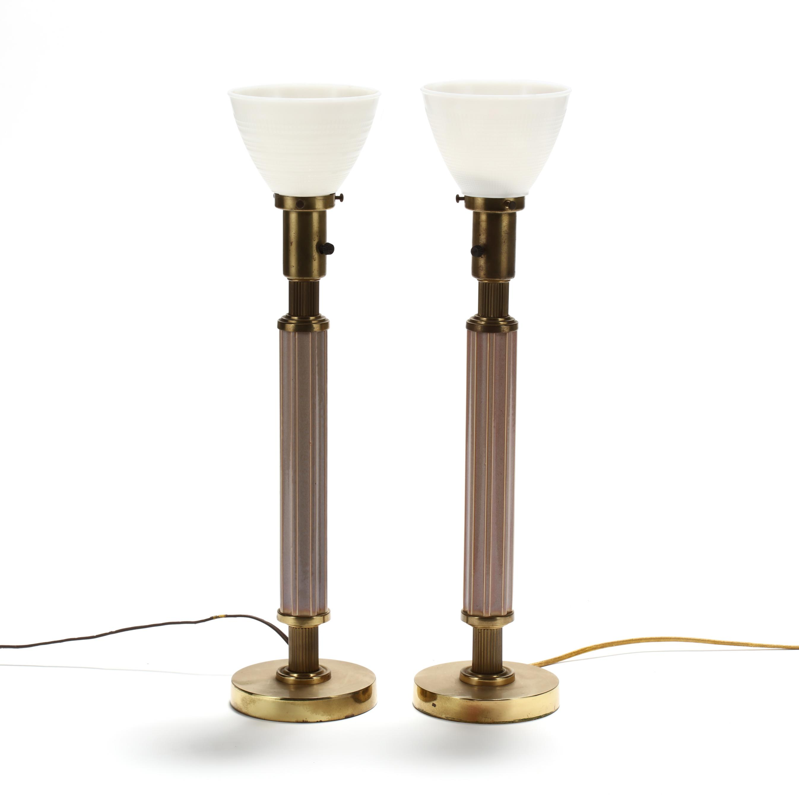 pair-of-american-mid-century-pottery-table-lamps