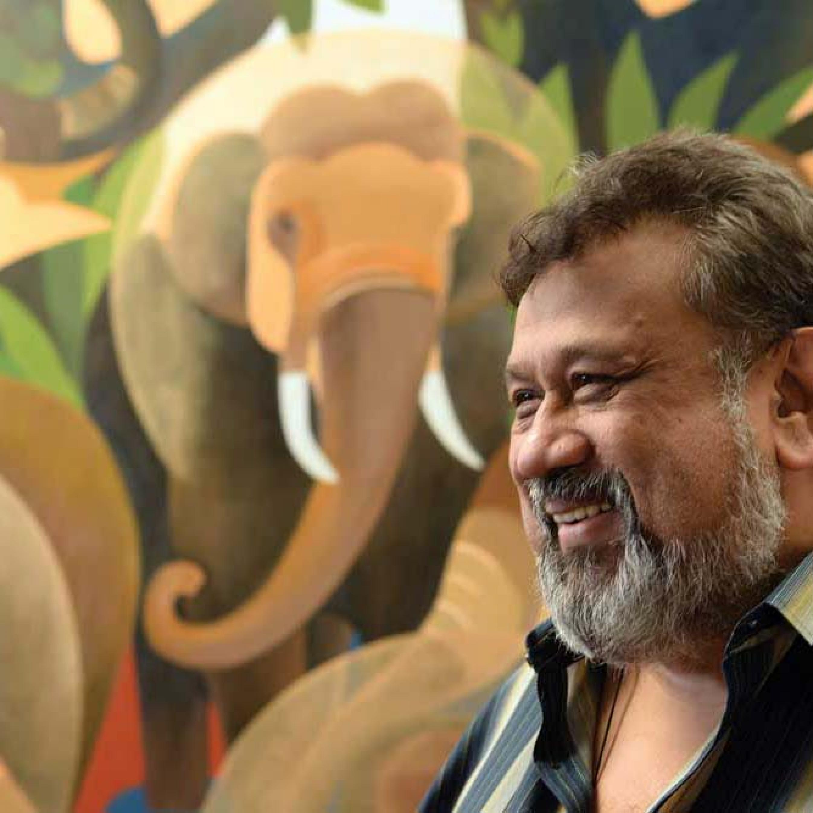 One of Sri Lanka's Best-Known Artists for Over 60 Years