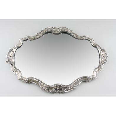 victor-saglier-silverplated-mirrored-plateau