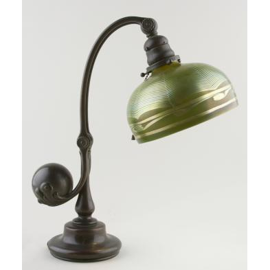 signed-tiffany-studios-counterbalance-desk-lamp