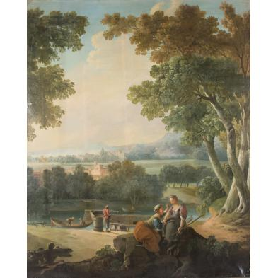 large-french-school-mural-18th-century