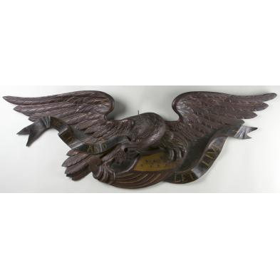 large-carved-american-eagle-new-england