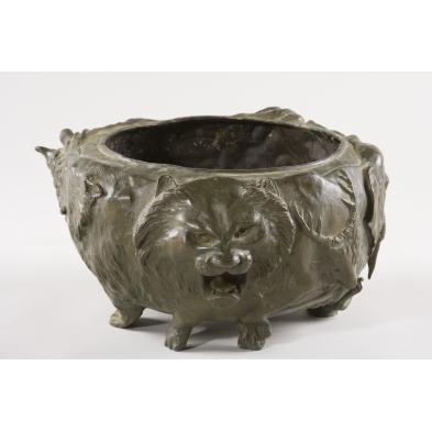 asian-bronze-jardiniere-with-animal-theme