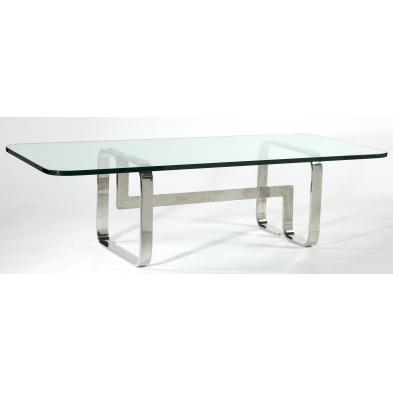 mid-century-chrome-and-glass-coffee-table