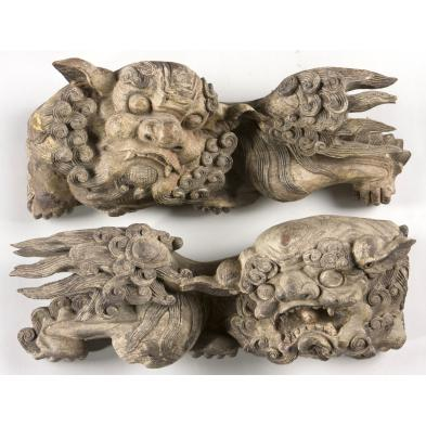 pair-of-antique-carved-wooden-foo-dogs