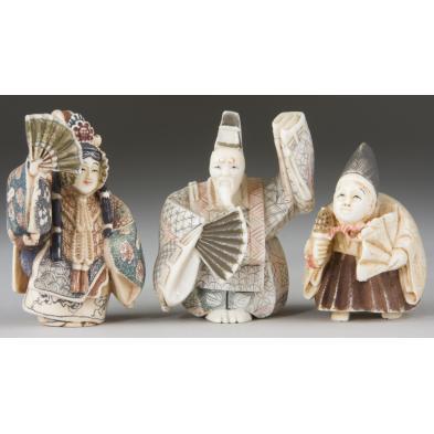 three-ivory-kabuki-theater-netsukes