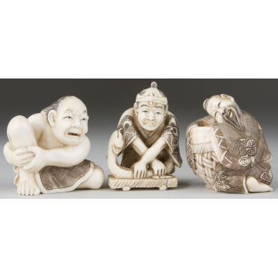 three-ivory-netsukes