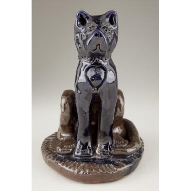 billy-ray-hussey-nc-folk-pottery-dog