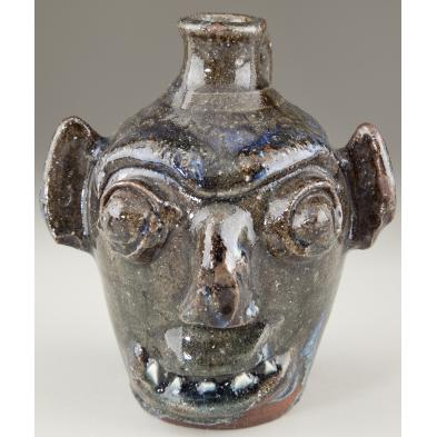 burlon-craig-scary-face-jug-nc-folk-pottery