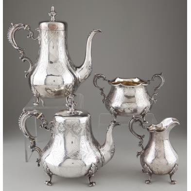 victorian-sterling-silver-tea-coffee-service