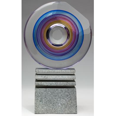 michael-david-kit-karbler-art-glass-sculpture