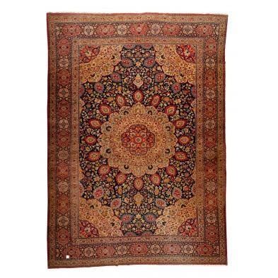 large-room-size-semi-antique-tabriz-carpet