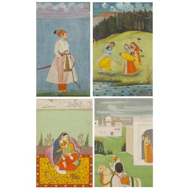 four-mughal-paintings