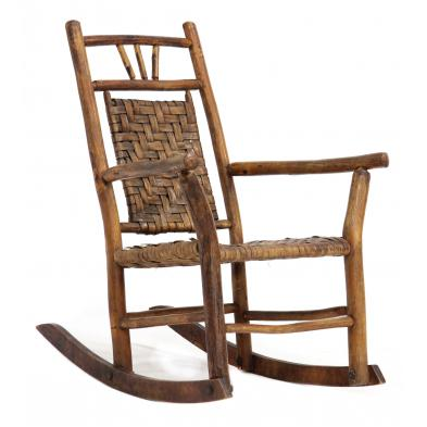 nc-child-s-twig-art-rocking-chair