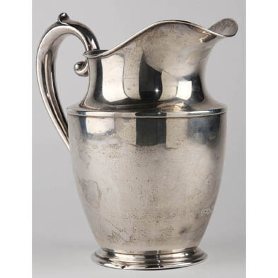 wallace-sterling-silver-water-pitcher