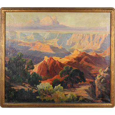 carl-hoerman-mi-ca-1885-1955-enchanted-canyon