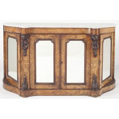 victorian-marble-top-inlaid-credenza