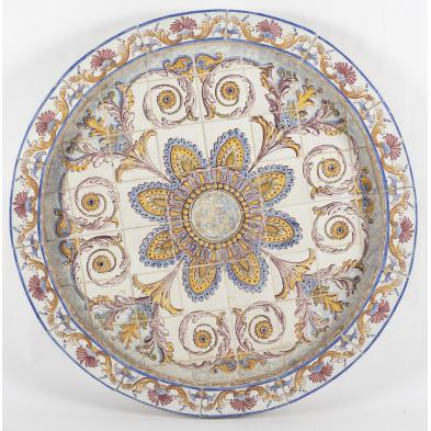 portuguese-faience-tile-fountain-base