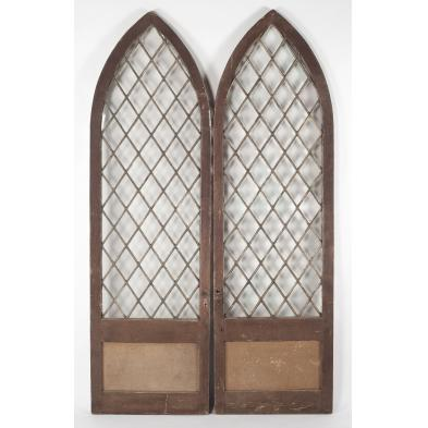 pair-of-gothic-arched-doors
