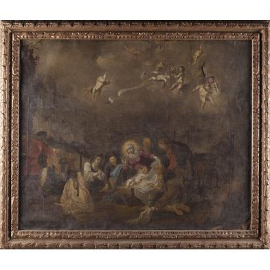 old-master-painting-the-nativity-17th-century