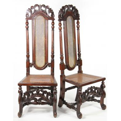 pair-of-jacobean-revival-hall-chairs