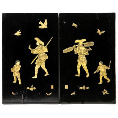 pair-of-asian-lacquered-and-inlaid-plaques