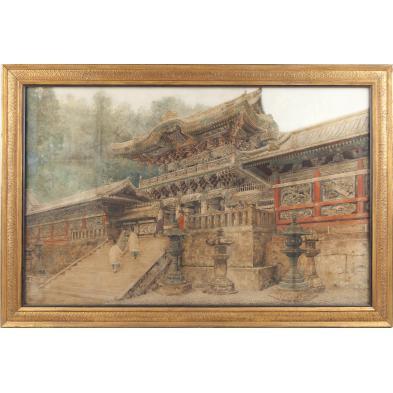 bunsai-loki-japanese-1863-1906-rinno-ji-temple