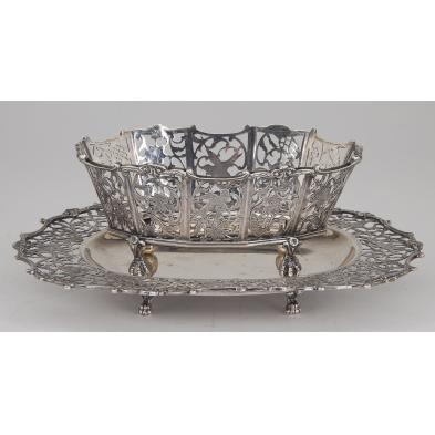 dutch-silver-sweetmeat-basket-with-tray
