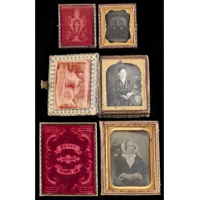 three-cased-daguerreotypes-of-daguerreotypes