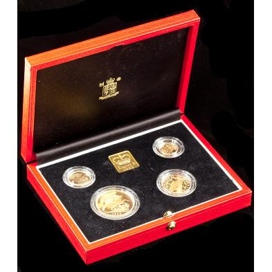 1999-uk-gold-proof-sovereign-four-coin-collection