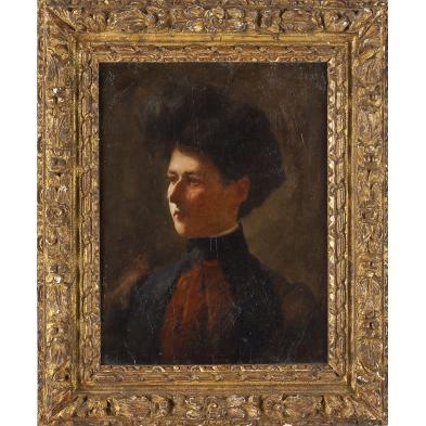 ernst-randall-b-1877-portrait-of-a-woman