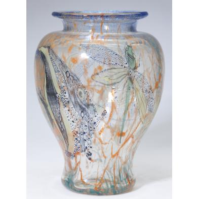 cased-glass-baluster-vase