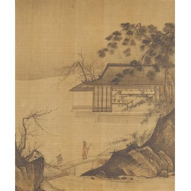 japanese-painting-on-silk-19th-century