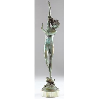 harriet-frishmuth-ny-1880-1980-bronze-nude