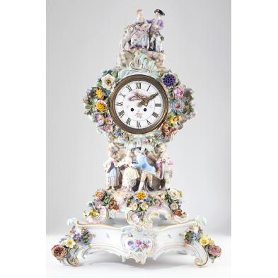 meissen-porcelain-figural-clock-stand