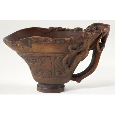 chinese-rhinoceros-horn-chilong-libation-cup