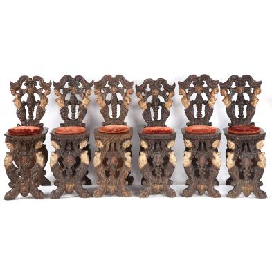 rare-set-of-six-sgabello-side-chairs