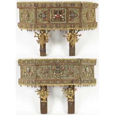 pair-of-nepalese-jeweled-wall-brackets